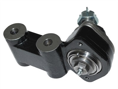 Axle bridge joint (A-arm / A-frame ball joint) greasable with 45° operating range