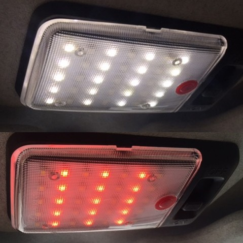 LED Interior Light for Land Rover Defender (Warm White)