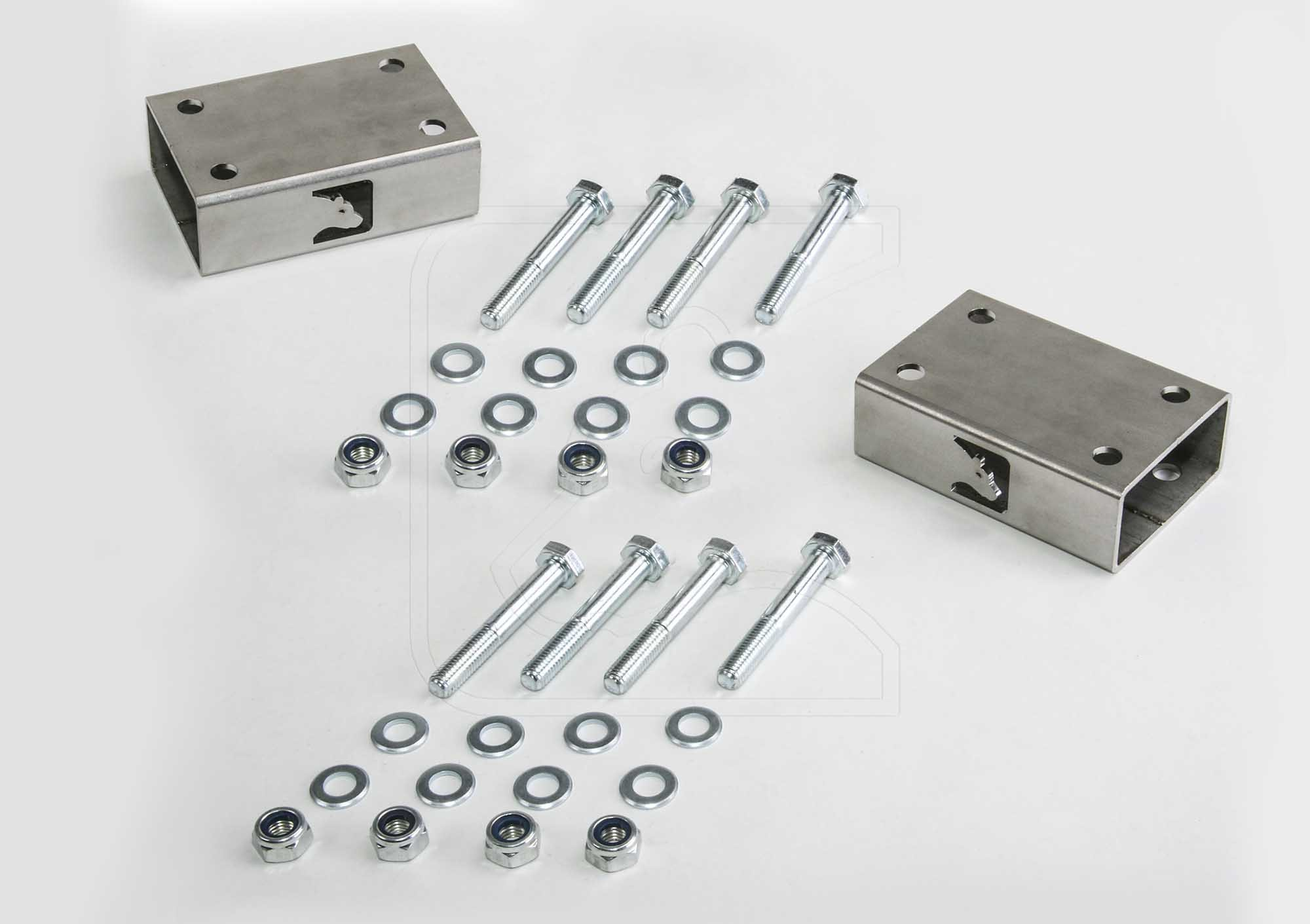 Spacers for rear axle sway bar, for Defender 90/110/130