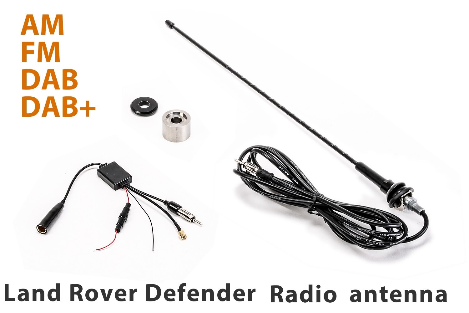 Land Rover Defender Flexible Radio Antenna - AM / FM / DAB / DAB +
