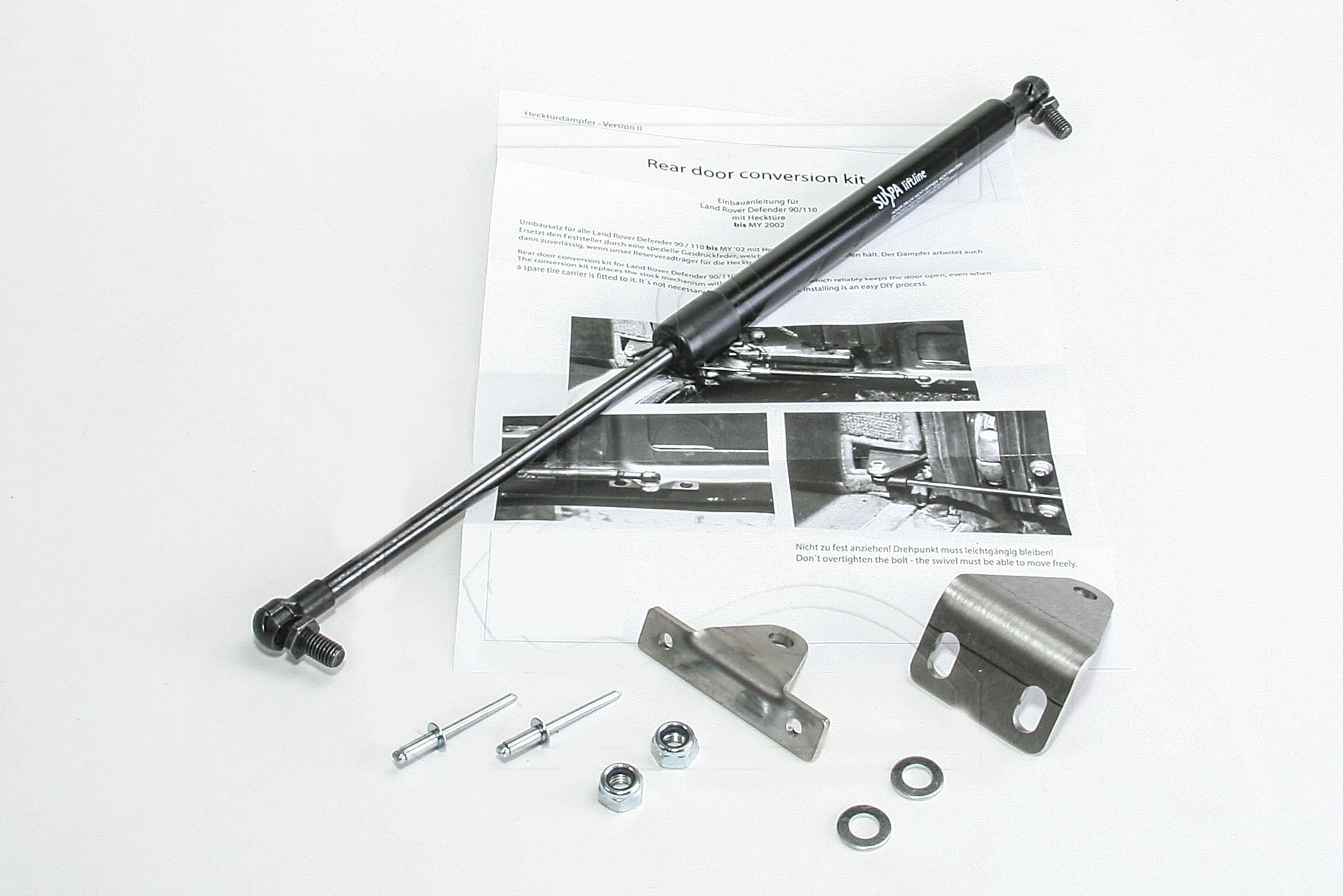 Defender Rear Station Wagon Door Gas Strut (up to MY2001)