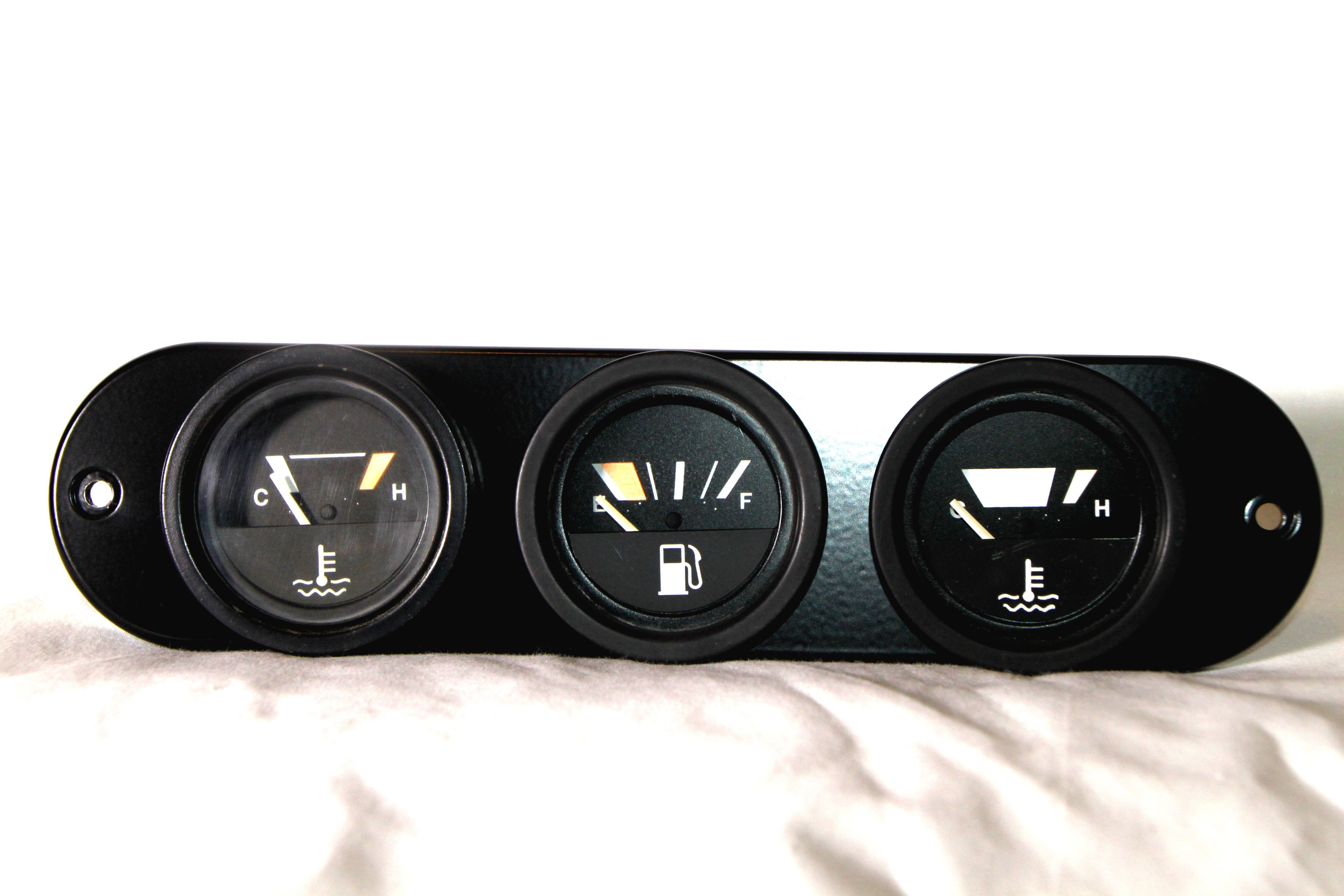 Dash Center Face Plate Panel (VDO Gauges)