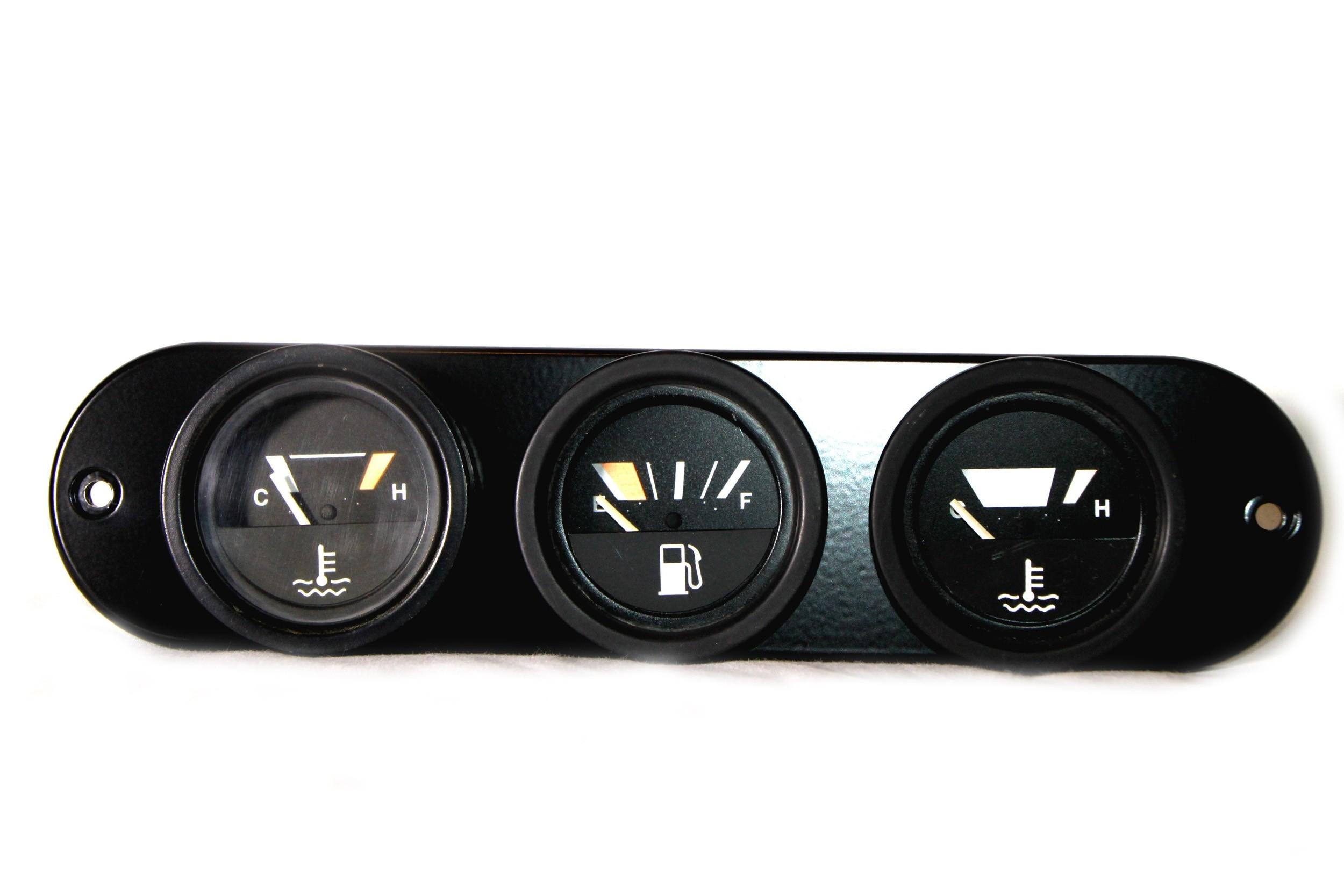 Dash Center Face Plate Panel (VDO Gauges)
