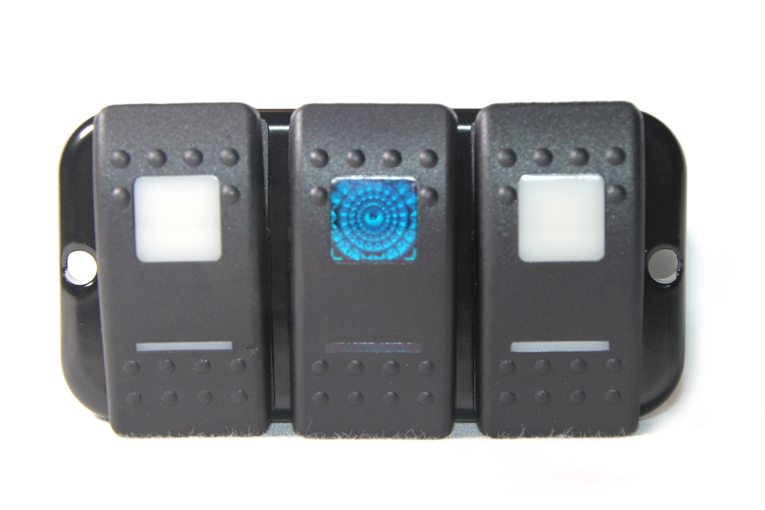 LHD Lower Dash Switch Plate Panel (3 Carling)