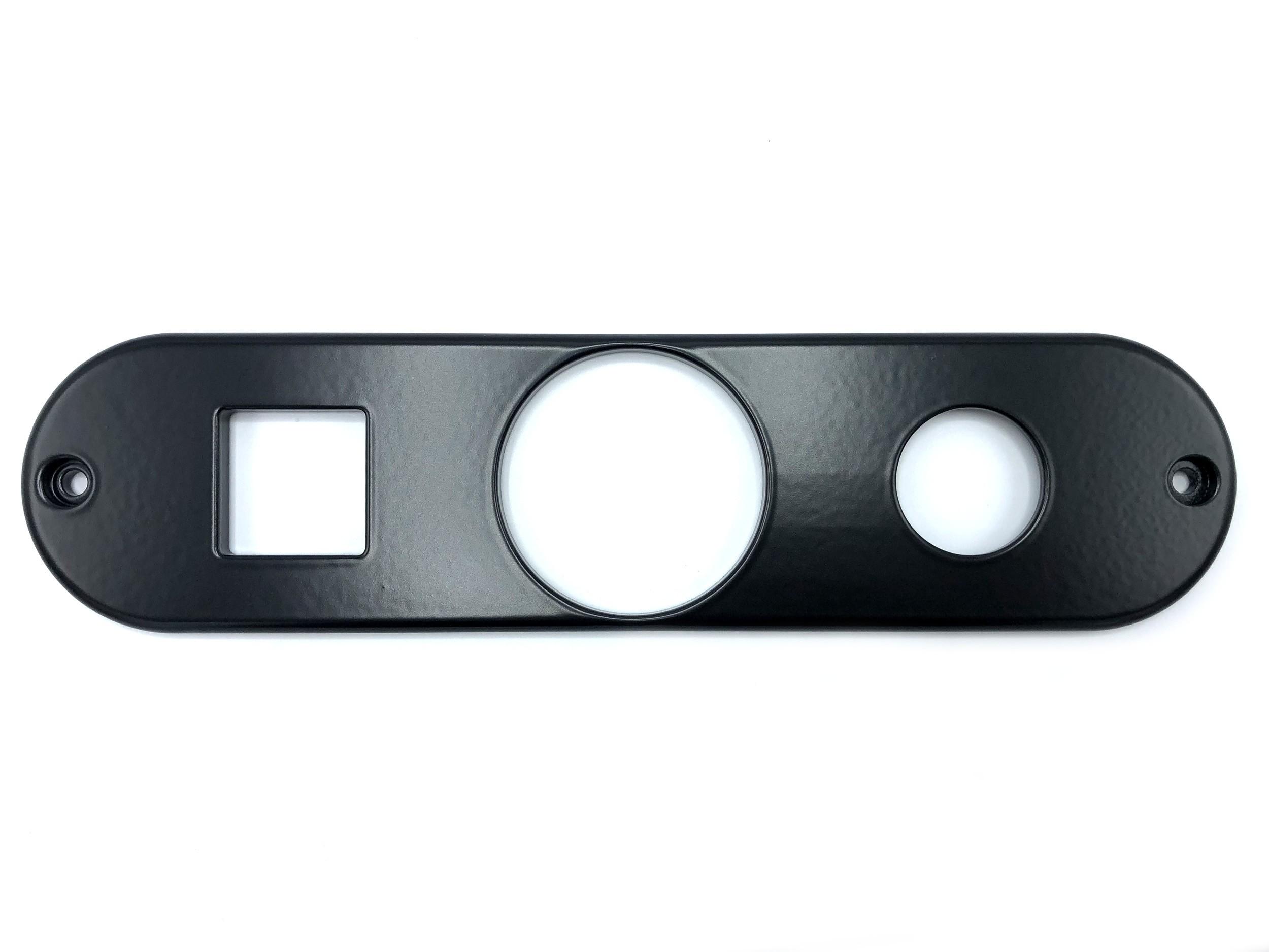 Dash Center Face Plate Panel (NAS configuration w/ VDO clock cutout)