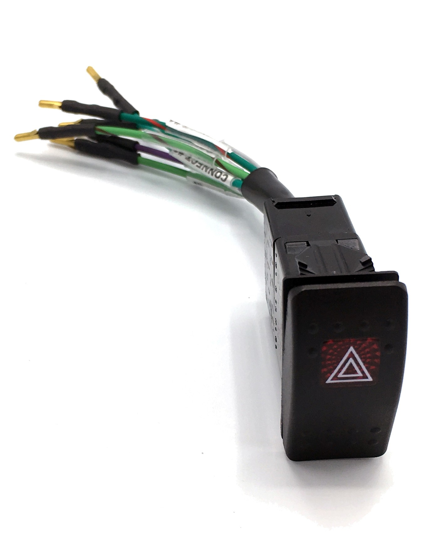 Hazard Switch Wiring Harness (*includes* Carling Hazard Switch & Multiplug)