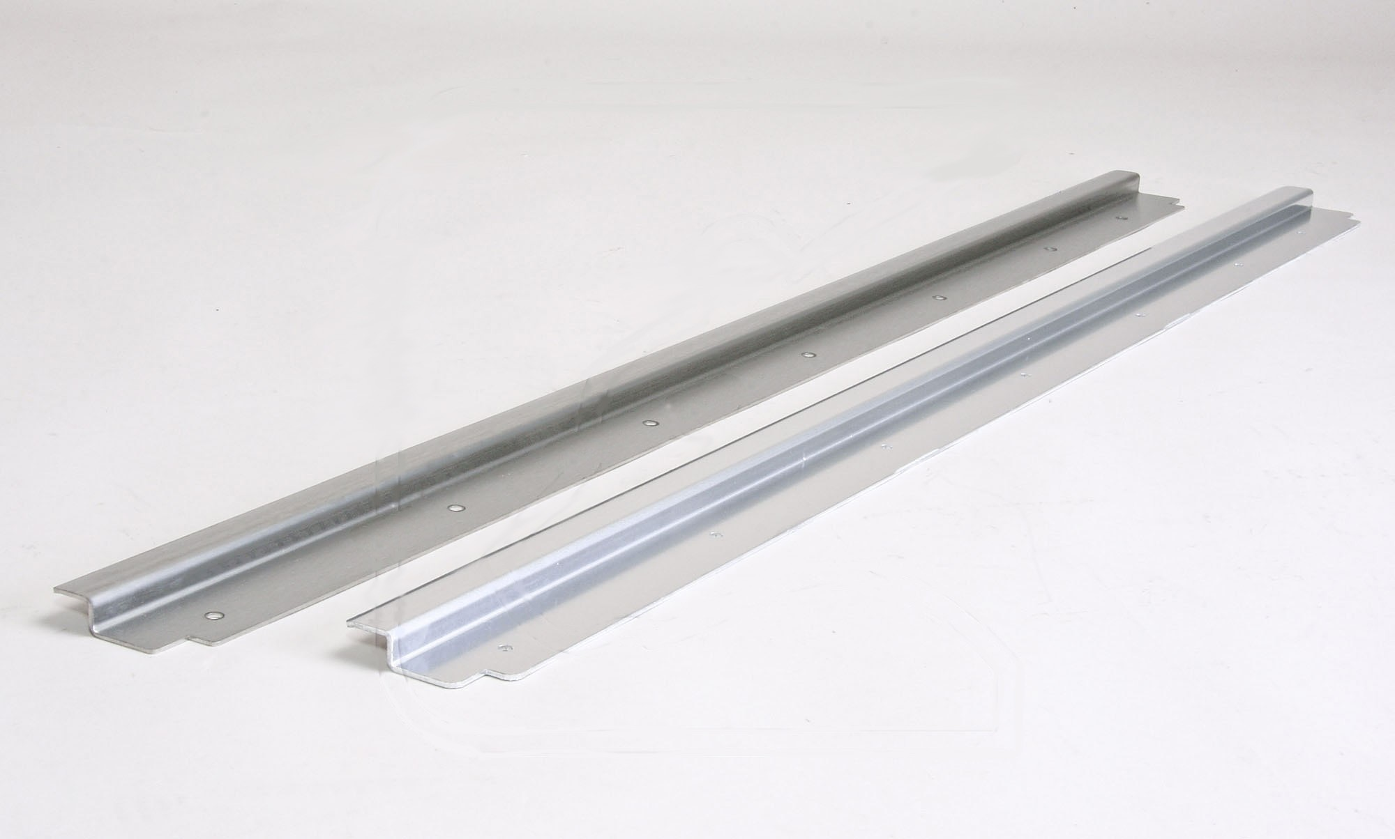 Rear Load Bay Sill for Land Rover Defender (stainless steel)