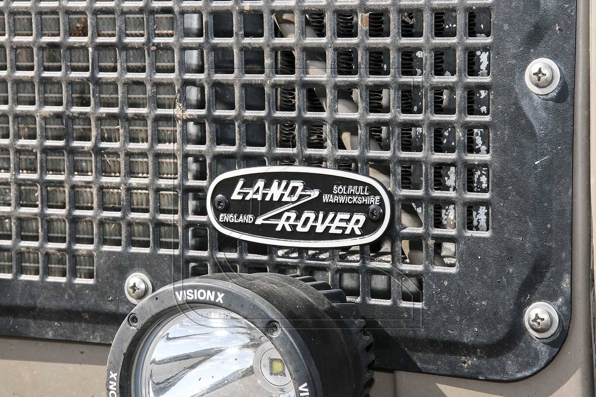 """""""Land Rover Solihull"""" Oval Badge (Cast Aluminum, SMALL)"""