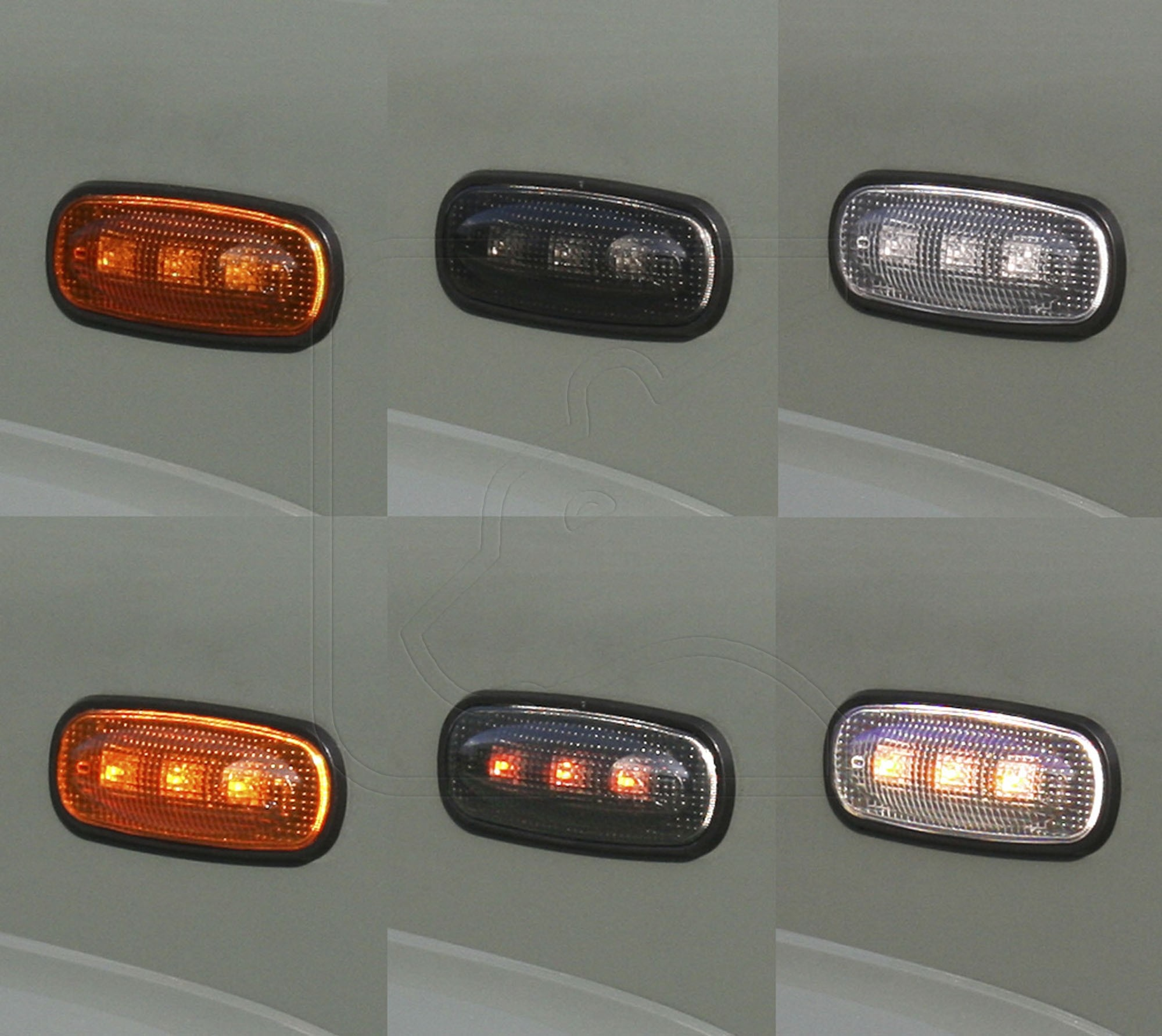 LED Wing Side Indicators for Land Rover Defender [***4-6 WEEK LEAD-TIME***]