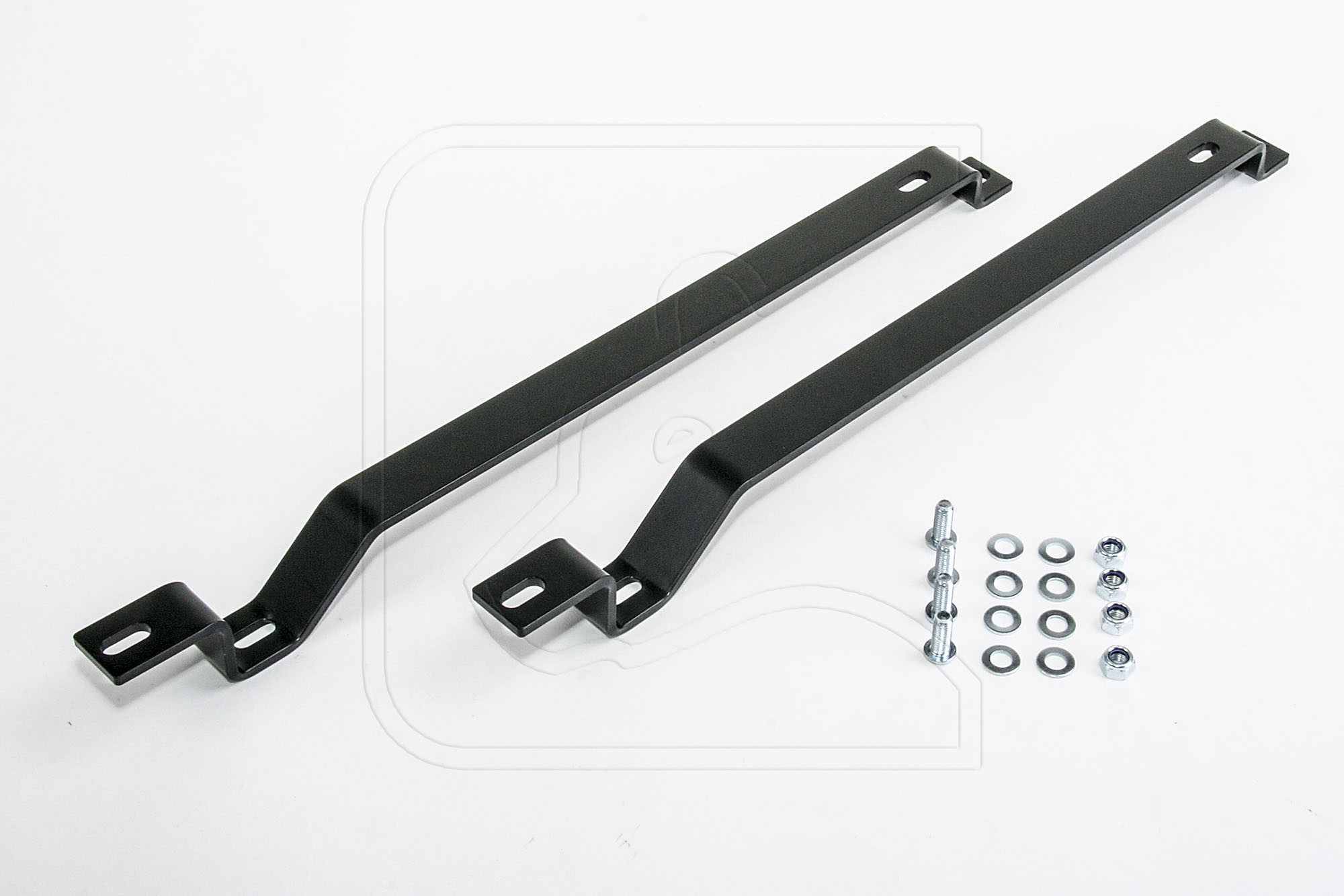Seat Risers / Rail Extensions (stainless steel, powdercoated black)