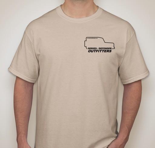 Adult T-Shirt: Desert Sand