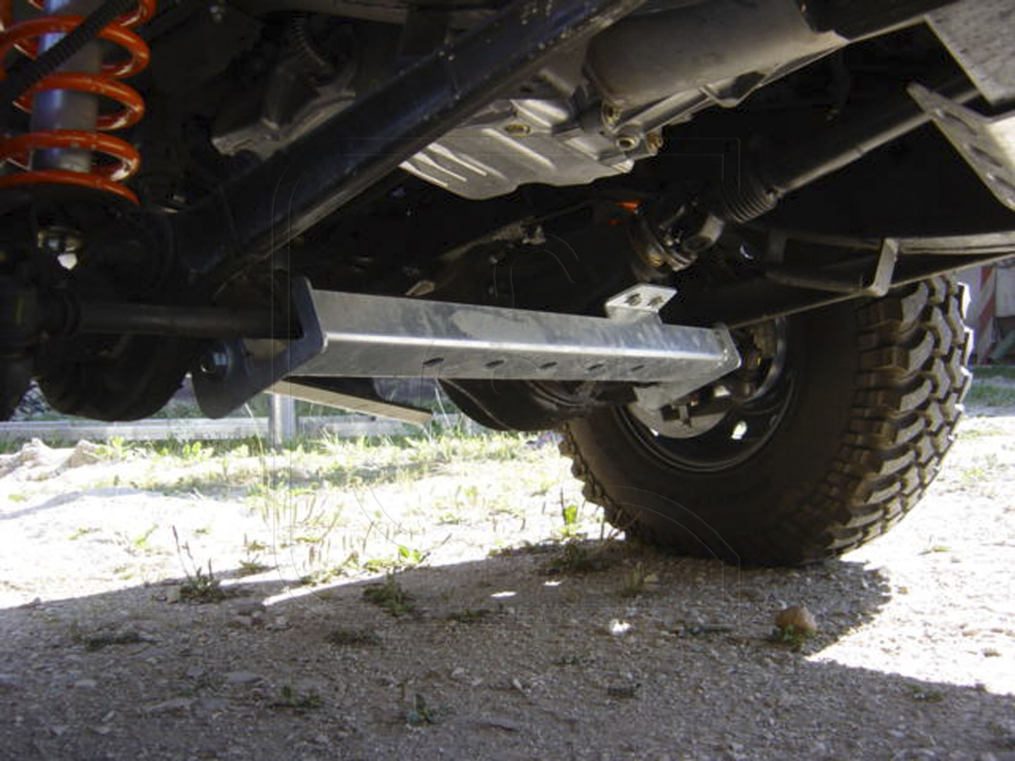 Defender Galvanized Steel Heavy Duty Tie Rod / Track Rod Guard