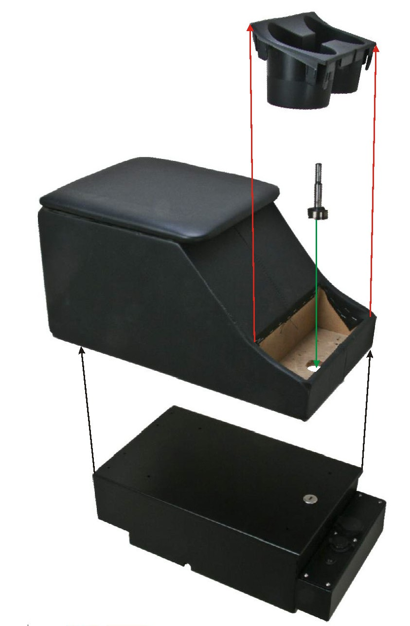 Defender Cubby Box Console Base / Security Console