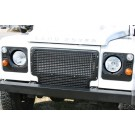 Heritage Style Front Grille - aluminum, vehicle without air conditioning (black or silver powdercoat) [***4-6 WEEK LEAD-TIME***]