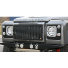 Heritage Style Front Grille - aluminum, vehicle with air conditioning (black or silver powdercoat) [***4-6 WEEK LEAD-TIME***]