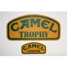 Camel Trophy Plaque - embossed/backed aluminum - original vehicle plates