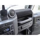 DIN bay for Land Rover Defender Puma/Td4