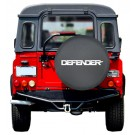 """DEFENDER"" Tire Cover (soft vinyl)"