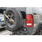 LR3/LR4 Stainless Steel Spare Tire Carrier [***6-8 WEEK LEAD-TIME***]