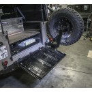 Defender Stainless Steel Spare Tire Carrier for Pickup / Soft-Top