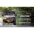 "'Series-Defender Outfitters' wall banner 55""x33"""