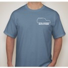 Adult T-Shirt: Slate Blue