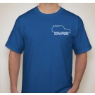 Youth T-Shirt: Royal Blue-Youth XS (2-4)