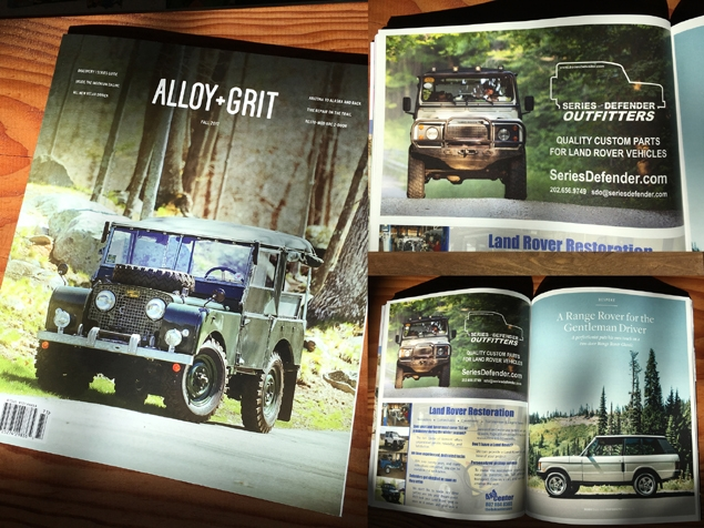 SDO Advertisement in Alloy+Grit - Fall 2017