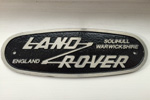 Land Rover Grille Badges