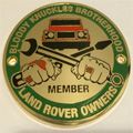 Grille Badge - Bloody Knuckles Brotherhood