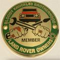 Grille Badge - Bloody Knuckles Brotherhood
