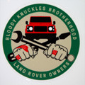 Decal - Bloody Knuckles Brotherhood