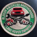 Velcro Patch - Bloody Knuckles Brotherhood