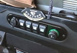 Land Rover Defender Custom Center Dash Face Plate