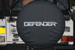 Land Rover Defender - tire cover