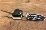 "Land Rover ""Solihull"" Keychain & Custom Bottom Tags"