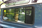 Land Rover Defender - station wagon window screens