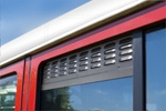 Land Rover Defender - window screens/vents