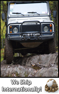 Custom parts and accessories for Land Rover Series and Defender vehicles